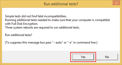 Running additional tests in FDE Test Utility